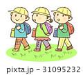 遠足 小学生 男の子のイラスト 31095232