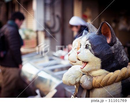 招き猫越しの商店 31101769