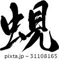蜆 しじみ 筆文字のイラスト 31108165