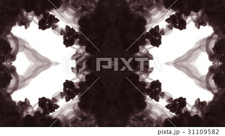 Abstract black and white background of ink or 31109582