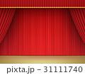 緞帳 ステージ幕 幕のイラスト 31111740