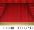 緞帳 ステージ幕 幕のイラスト 31111741