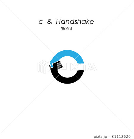 creative c letter icon abstract logo design のイラスト素材