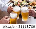 乾杯 ビール 生ビールの写真 31113789