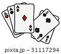 トランプ ポーカー エースのイラスト 31117294