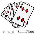 トランプ ポーカー ゲームのイラスト 31117300