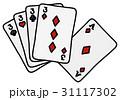 トランプ ポーカー ゲームのイラスト 31117302