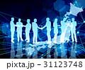 日本のビジネスマンとネットワーク背景 31123748