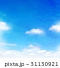 空 水彩 背景素材のイラスト 31130921