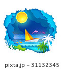 Tropical sea with sun 31132345