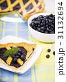 パイ ブルーベリー 洋菓子の写真 31132694