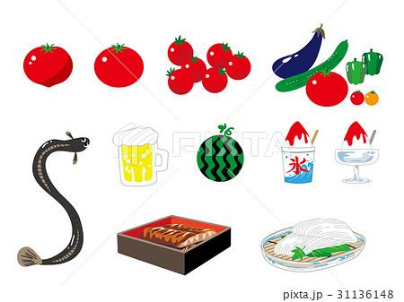 夏の食べ物セット 31136148