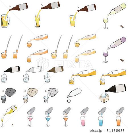 お酒を注ぐ イラスト 31136983