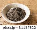 黒ゴマ 胡麻 食材の写真 31137522