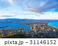 函館山 函館市 夕暮れの写真 31146152