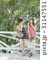 女性 旅行 リゾートの写真 31147551