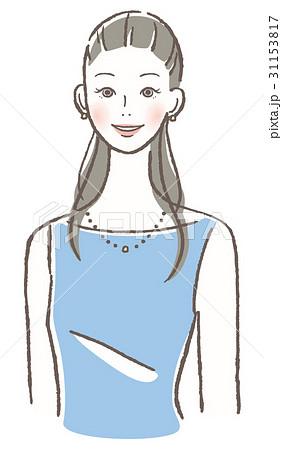 微笑む女性 31153817