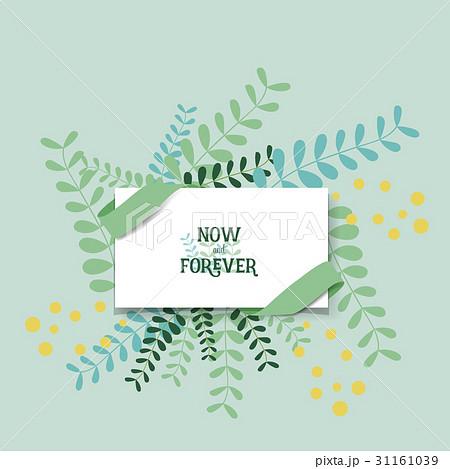 wedding invitation card design with cute flower templates vector