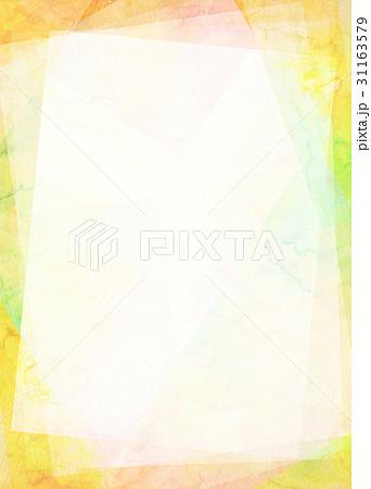 水彩 フレーム テクスチャー 31163579