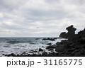 海 龍頭岩 済州島の写真 31165775