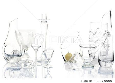 花瓶 ガラス グラスの写真素材 [31170060] - PIXTA