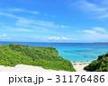 青空 海 砂山ビーチの写真 31176486