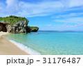 青空 海 砂山ビーチの写真 31176487
