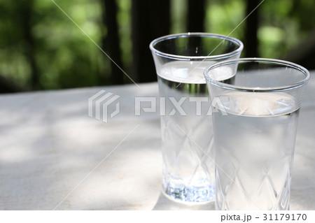 水 グラス の写真素材 [31179170] - PIXTA
