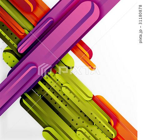 Straight lines backgroundのイラスト素材 [31180878] - PIXTA