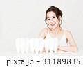デンタル ホワイトニング オーラルケア ビューティー 女性 若い女性 美容 31189835