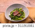 菜の花のベーコン炒め 31191081