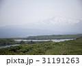 秋田県にかほ市 鳥海山と長谷池 31191263