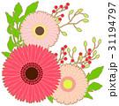 花のアイコン03_2(線画アリ) 31194797