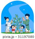 七夕 ベクター 七夕飾りのイラスト 31197080