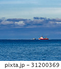 Red fishing ship 31200369
