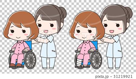 車椅子 骨折 事故 入院 介護士 看護師 病院 保険  31219921