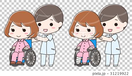車椅子 骨折 事故 入院 介護士 看護師 病院 保険  31219922
