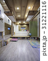 リビングルーム 収納 インテリアの写真 31221116