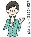 女性コンシェルジュ(グリーン) 31224627