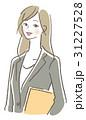 女性 ベクター 笑顔のイラスト 31227528