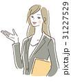 女性 ベクター 案内のイラスト 31227529