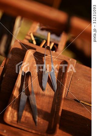 飴細工 祭り 的屋 テキヤ 露店 レトロ 鋏 はさみ 昭和 時代 昔 懐かしい 31231093