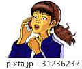 驚き ショック スマートフォンのイラスト 31236237