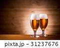 生ビール ビール ビアグラスの写真 31237676