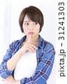 若い女性 ヘアスタイル 31241303