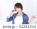 若い女性 ヘアスタイル 31241313
