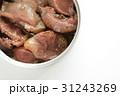缶詰めフードの砂肝 31243269