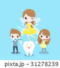 children and tooth fairy 31278239