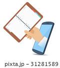フォン 電話 プランナーのイラスト 31281589