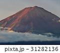 富士山 秋 夜明けの写真 31282136